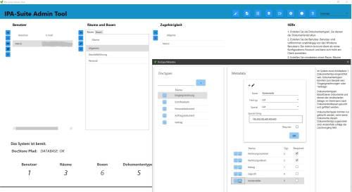 IPA-Suite-Admin Screenshot