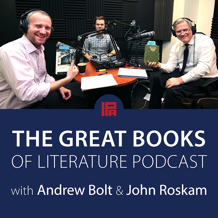 The Great Books of Literature Logo