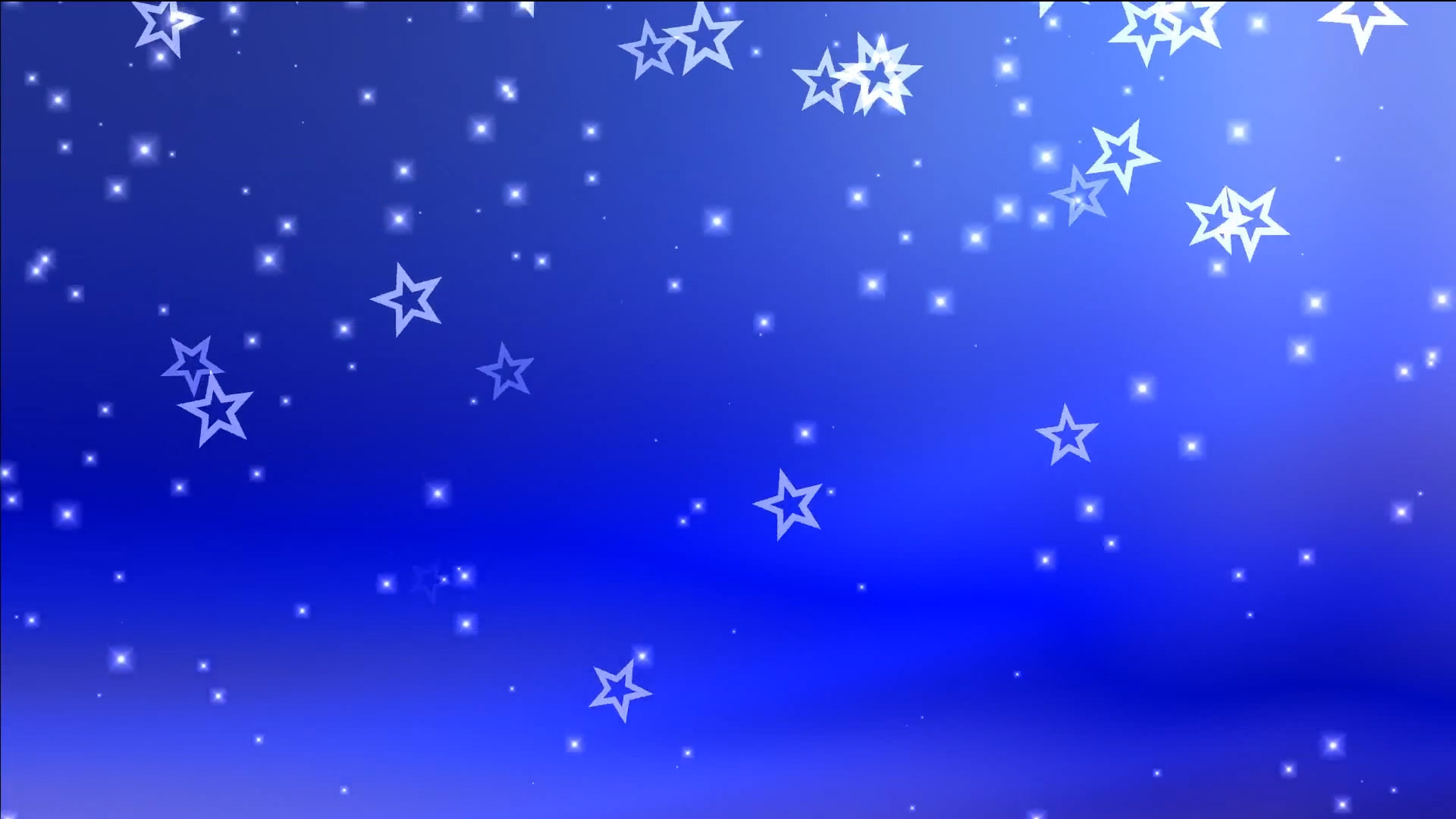 Buy Animated Falling Stars Amp Particles Video On Blue