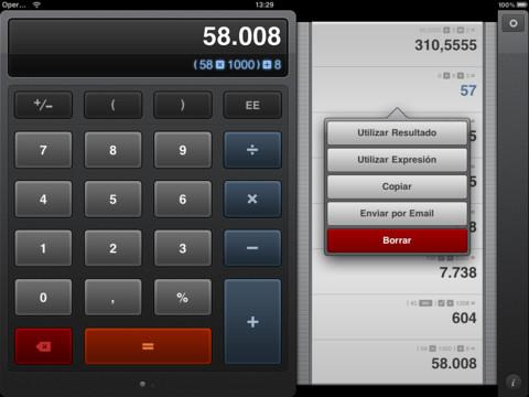 Calcbot, una de las mejores calculadoras para tu iPad