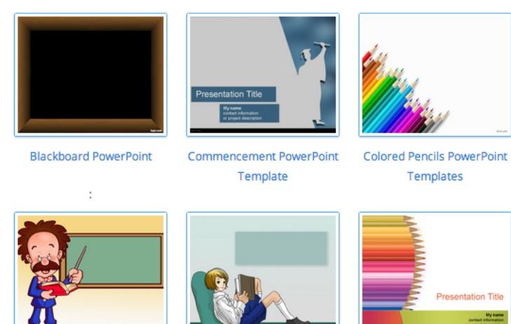Colección de plantillas gratuitas para PowerPoint
