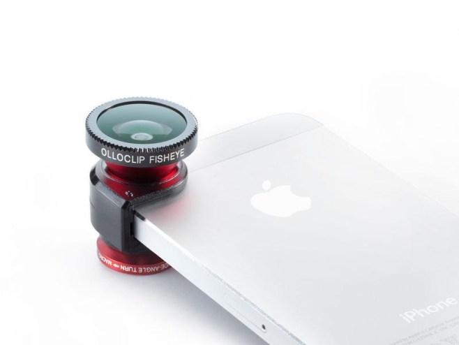 Olloclip, tres interesantes lentes para el iPhone 5
