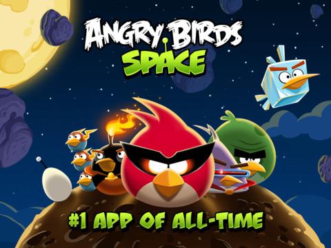 Angry Birds Space HD, hoy gratis en la App Store