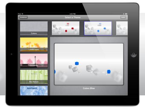 Crea tus presentaciones multimedia fácilmente desde tu iPad