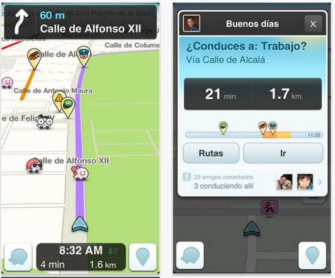 Waze, la red social de trafico se actualiza a la versión 3.7