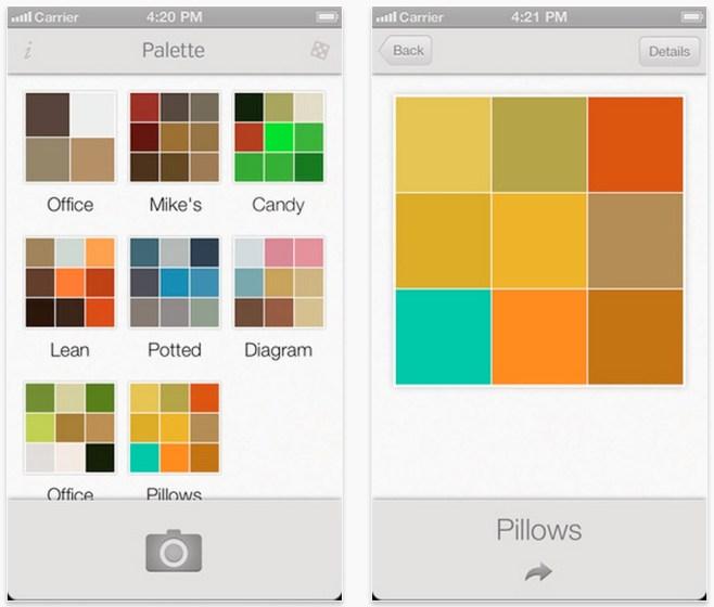 Crea paletas de colores fácilmente tan sólo realizando una fotografía