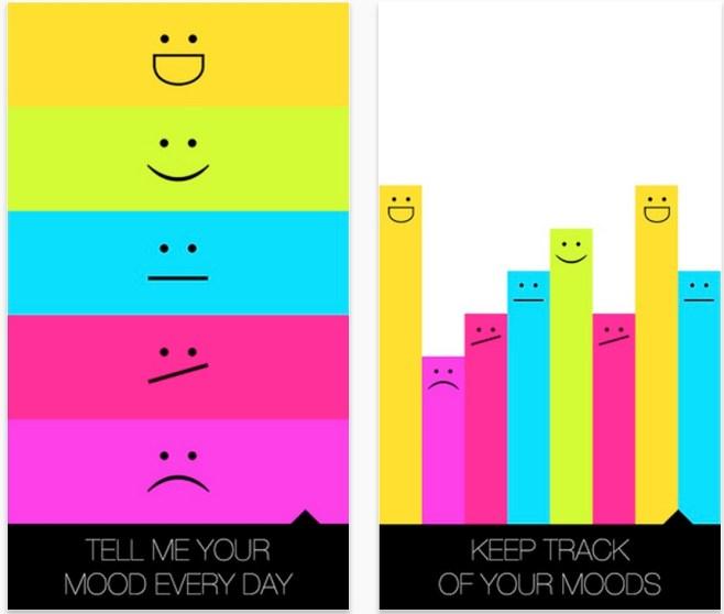 Registra diariamente tu estado de ánimo desde tu dispositivo móvil