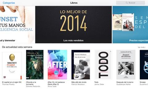 Todos los libros de las Apps Store de Apple subirán su precio considerablemente a partir del 2015