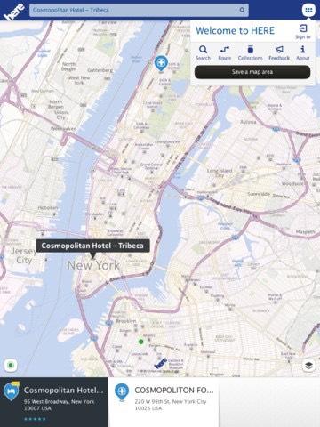 Nokia Here estará de nuevo disponible para iOS. Nokia se propone crecer en el mercado del software