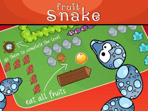 Serpiente fruta