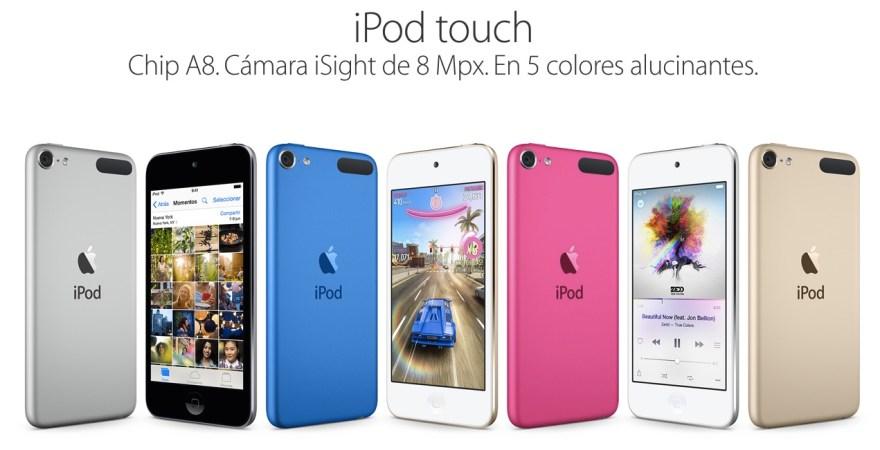 Resultado de imagen para ipod touch 6 generacion