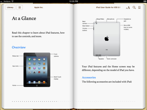 Apple's New iPad User Guide
