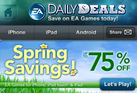 eamobile-spring-easter-app-sale
