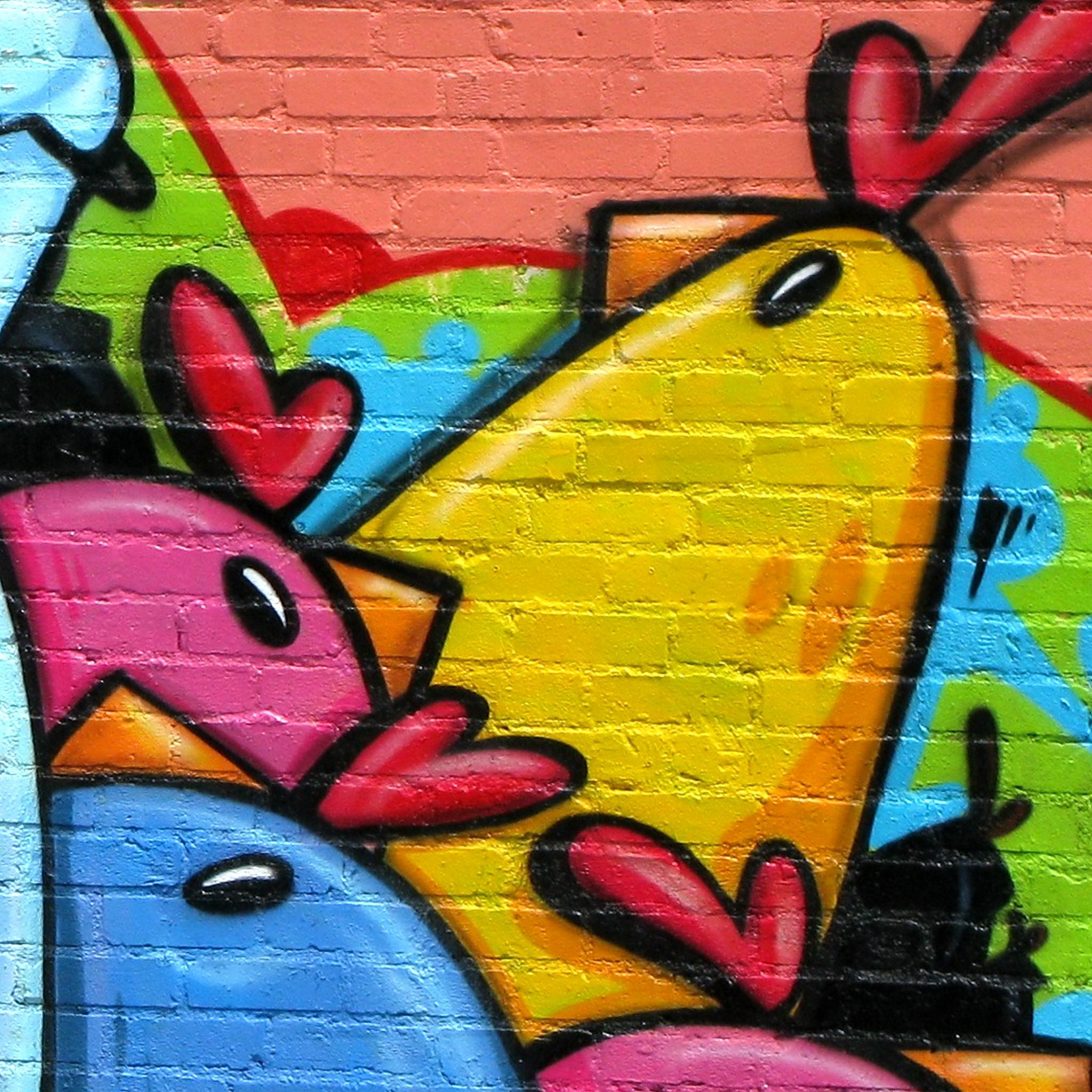 iPad Retina Wallpaper Graffiti