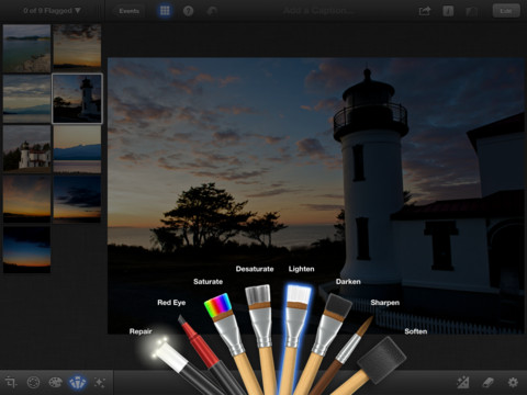 iPhoto for iOS is now available at the App Store