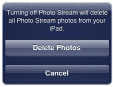 Delete Photos from iCloud
