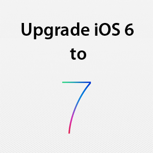 upgrade ios 6 to ios 7