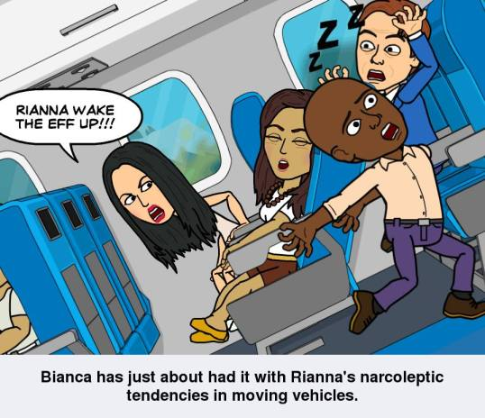 bitstrips rianna bianca comic strip