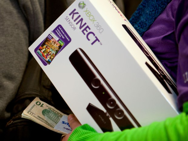 Purchased Xbox Kinect