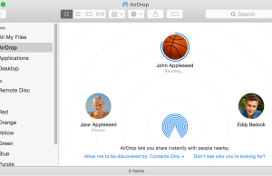 How to Setup AirDrop For iPad