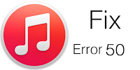 itunes-error-50-fix