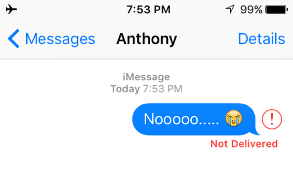 Why I Cannot Receive Pictures in iPhone 6 iMessages - Not
