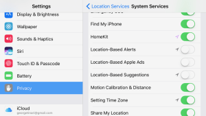 Privacy and Security Settings for iPhone
