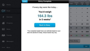 iPad nutrition tracking apps: MyPlate vs  MyFitnessPal