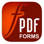 本日の無料アプリ、PDFにメモや注釈を書き込む「PDF Forms」1,080円→0円