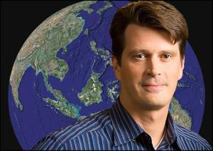 John Hanke, Google director in charge of Google Earth and Google Maps.