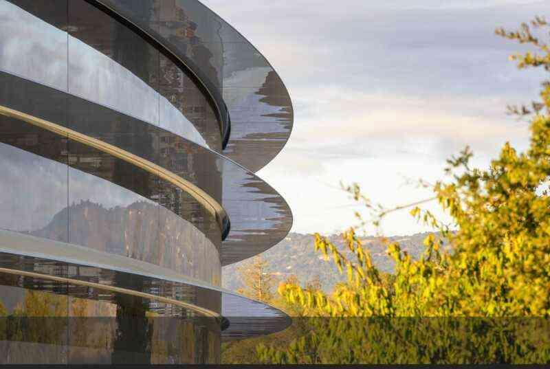 Appleが建設中の新キャンパスの...