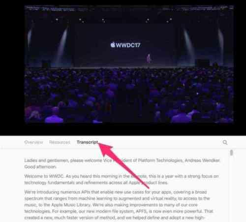 WWDC 2017のセッションビデオ