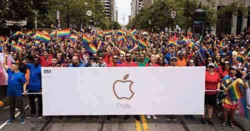 LGBTQのプライドパレード