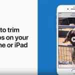 iPhoneの「写真」アプリでビデオを切り取る方法(動画あり)