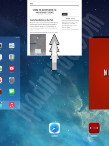 Close Running Background Apps iPad iOS 7