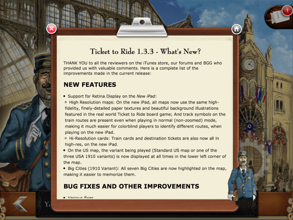 Ticket to ride 1.3.3 (5/6)