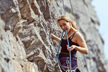 Lead-Climber-Swiss-Climber-Christine-Mitchell-lead-climbing-Aigle-Switzerland-April-2010