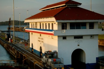 Gatun-Locks, Panama Canal