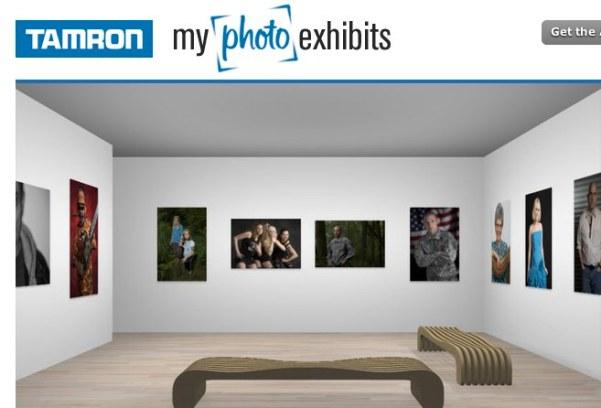 Tamron MyPhotoExhibits