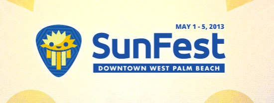 Click Here For Info On Sunfest 2013