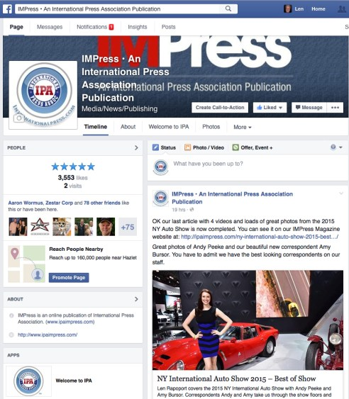 Our IMPress FB Page
