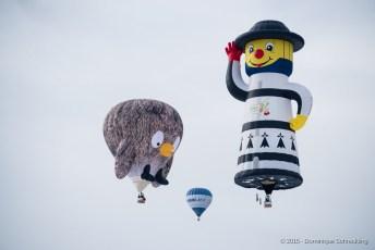 37ème Festival International de Ballons de Château-d'Oex