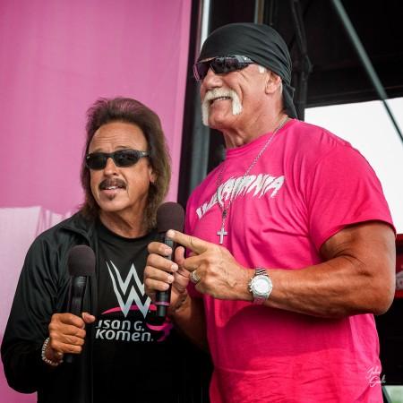 Jimmy Hart with Hulk Hogan