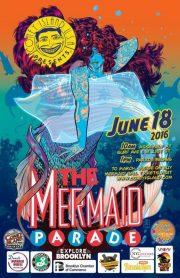 Mermaid Parade 2016 Poster