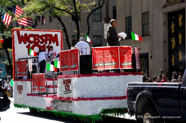 Columbus Day Parade 2016 float