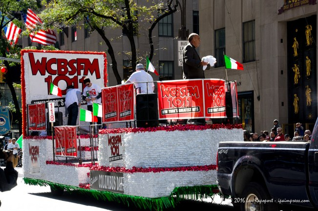 Columbus Day Parade 2016 float