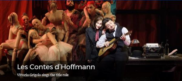 Offenbach's 'Les Contes d'Hoffmann at the MET Opera, 2017-18 Season