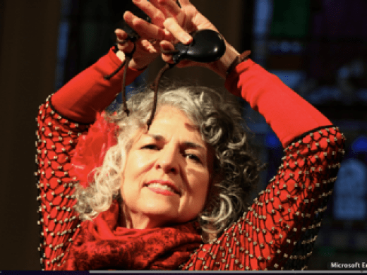 Helen Peterson's Original Poetry-Dance Fusion Performance with Music
