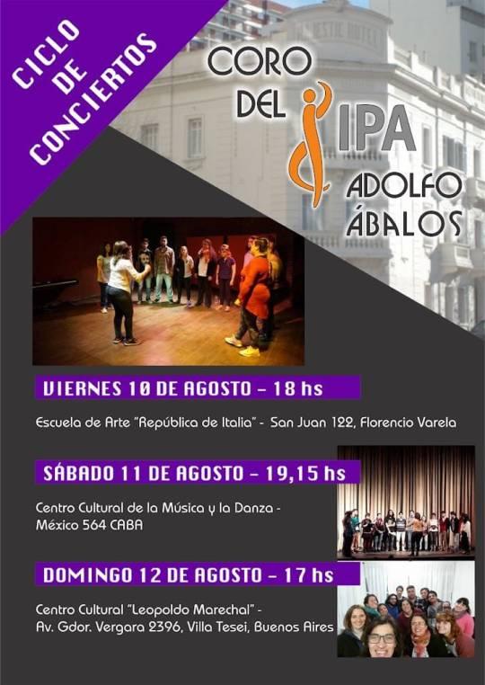 Ciclo de conciertos del Coro del IPA 'Adolfo Ábalos'