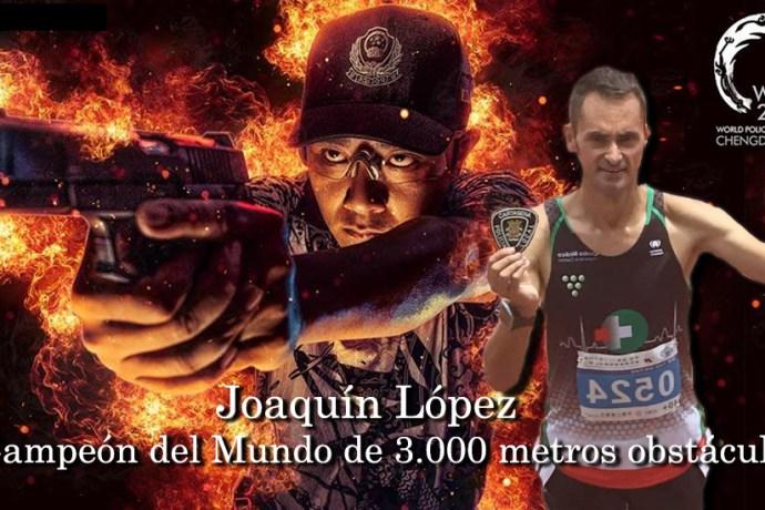 Campeón medalla de oro en 3.000 metros obstáculos